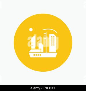 City, Colonization, Colony, Dome, Expansion - Stock Photo