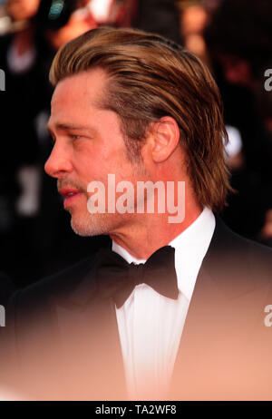 Cannes Film Festival 21stMay at a Red Carpet Brad Pitt - Stock Photo