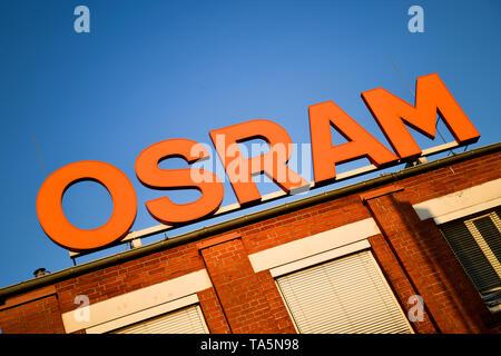 Osram work, nun's dam avenue, Siemensstadt, Spandau, Berlin, Germany, Osram Werk, Nonnendammallee, Deutschland - Stock Photo