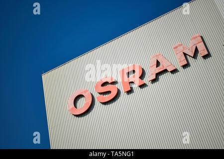 Osram work, camp Motardstrasse, Siemensstadt, Spandau, Berlin, Germany, Osram Werk, Lager Motardstraße, Deutschland - Stock Photo