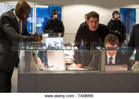 RELEASE DATE: August 23, 2019 TITLE: Angel Has Fallen STUDIO: Summit Entertainment DIRECTOR: Ric Roman Waugh PLOT: Secret Service Agent Mike Banning is framed for the attempted assassination of the President and must evade his own agency and the FBI as he tries to uncover the real threat. STARRING: GERARD BUTLER as Mike Banning. (Credit Image: © Summit Entertainment/Entertainment Pictures) - Stock Photo