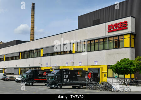 Sykes, Zeughofstrasse, cross mountain, Berlin, Germany, Zeughofstraße, Kreuzberg, Deutschland - Stock Photo