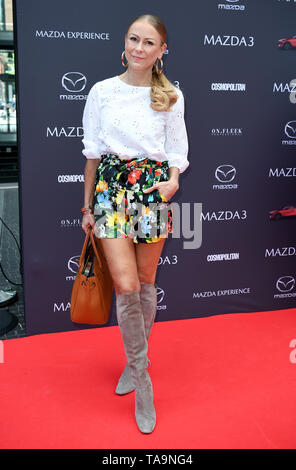 Berlin, Germany. 23rd May, 2019. Jenny Elvers, come to the Mazda Spring Cocktail. Credit: Britta Pedersen/dpa-zentralbild/dpa/Alamy Live News - Stock Photo