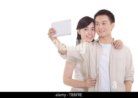 Sweet Interaction of a Couple - Stock Photo