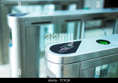 Electronic access equipment - Stock Photo