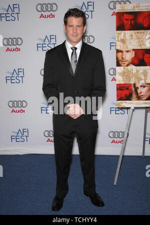 LOS ANGELES, CA. November 03, 2007: Director Richard Kelly at the AFI gala premiere of his new movie 'Southland Tales' at the Arclight Theatre, Hollywood. © 2007 Paul Smith / Featureflash - Stock Photo