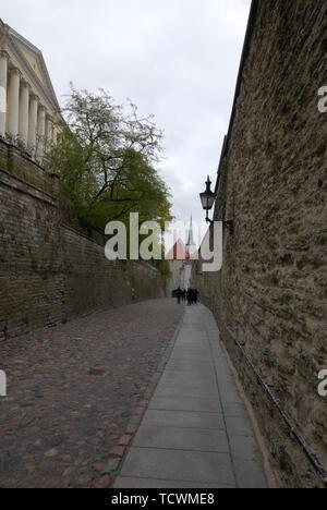 In Tallinn's 'Old Town', Estonia. - Stock Photo