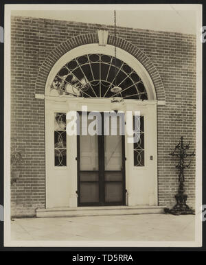 'English: Title: Arlington, Natchez, Adams County, Mississippi Abstract/medium: 1 photographic print.; 1938; Library of Congress Catalog: https://lccn - Stock Photo