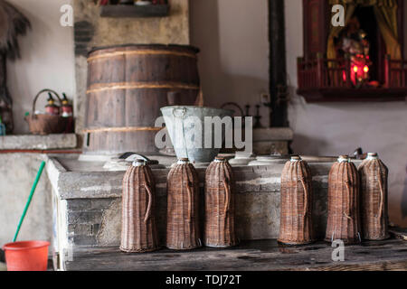 Jiangnan Residential Kitchen - Stock Photo