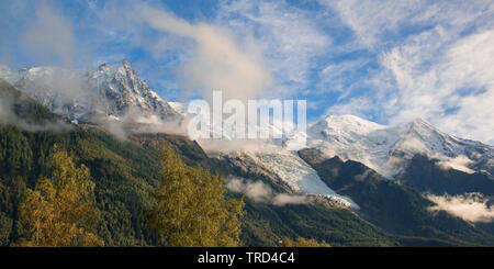 Aiguille du Midi - Chamonix Mont Blanc, Chamonix, French Alps, Savoy, France, Europe - Stock Photo