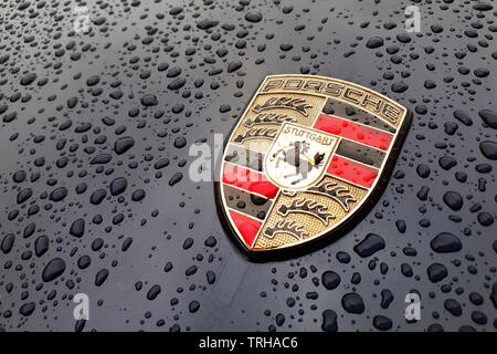Porsche Boxster 986.2 2.7  Picture by Antony Thompson - Thousand Word Media, NO SALES, NO SYNDICATION. Contact for more information mob: 07775556610 w - Stock Photo