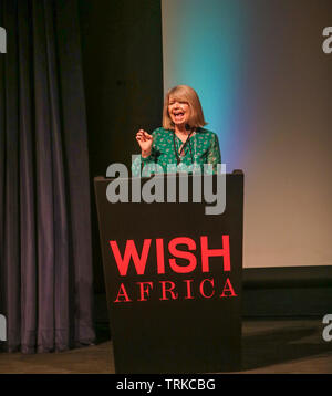 London, UK. 8th June 2019 Harriett Baldwin MP.  Appointed as Minister of State for Africa at the Foreign and Commonwealth Office and Minister of State at the Department for International Development on 9 January 2018. Opening the Wish Africa Expo in London Olympia , a two day, multi-industry conference showcasing the best of Africa in Architecture, Technology, Art, Fashion, Food and Drink as well as Travel.Paul Quezada-Neiman/Alamy Live News - Stock Photo