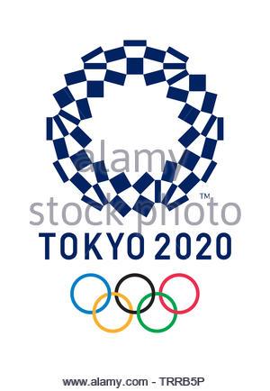 Tokyo 2020 Olympics Editorial Illustration - Stock Photo
