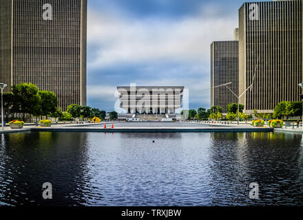 Albany, NY, USA - July 28, 2018: The New York State Museum - Stock Photo