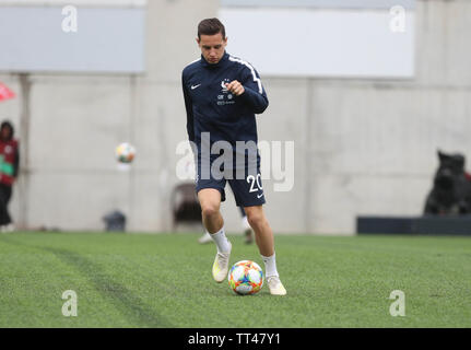 Florian Thauvin of France  during the UEFA Euro 2020 Qualifying Group H football match between Andorra and France on June 11, 2019 at Estadi Nacional in Andorra la Vella, Andorra - Photo Laurent Lairys / DPPI - Stock Photo