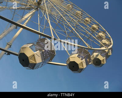 Newport, Isle of Wight. June 16 2019: Ferris Wheel at Seaclose Park, Isle of Wight Festival of Music. Credit: Katherine Da Silva - Stock Photo