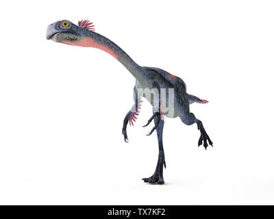 3d rendered illustration of a gigantoraptor - Stock Photo