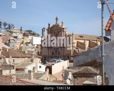'Fachada de la Colegiata de San Patricio, Lorca; 08/02/08; Own work; Awuachumele; ' - Stock Photo