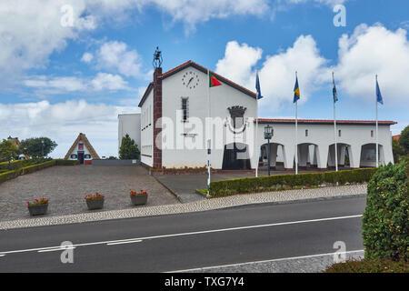 Santana town hall, Madeira, Portugal, - Stock Photo