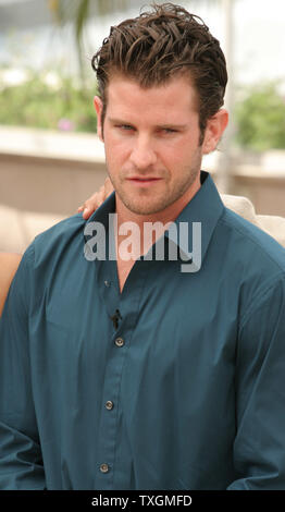 Director Richard Kelly arrives at a photo call for his film 'Southland Tales' at the 59th Annual Cannes Film Festival in Cannes, France on May 21, 2006.           (UPI Photo/David Silpa) - Stock Photo