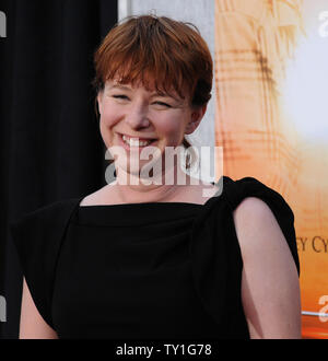 Julie Anne Robinson, who directed the motion picture drama 'The Last Song', attends the premiere of the film at the Arclight Cinerama Dome in Los Angeles on March 25, 2010.     UPI/Jim Ruymen - Stock Photo