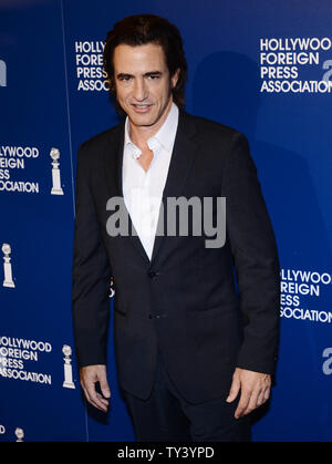 Actor Dermot Mulroney attends the Hollywood Foreign Press Association (HFPA) annual luncheon held at the Beverly Hilton Hotel in Beverly Hills, California on August 13, 2013.  Hollywood's top stars will help the HFPA give away a record $1.6 million to worthy causes during the event.    UPI/Jim Ruymen - Stock Photo