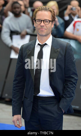 English-born Australian actor Guy Pearce attends the UK Premiere of 'Prometheus' at The Empire Leicester Square in London on May 31, 2012.     UPI/Paul Treadway - Stock Photo