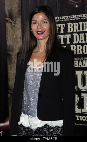 Jill Hennessey arrives for the 'True Grit' Premiere at the Ziegfeld Theater in New York on December 14, 2010.       UPI /Laura Cavanaugh - Stock Photo