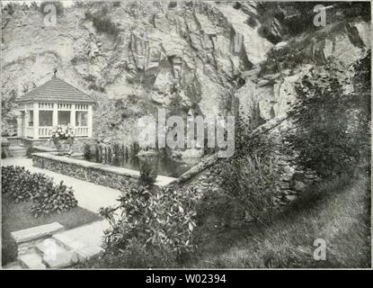 Archive image from page 117 of Die Gartenkunst (1899) - Stock Photo
