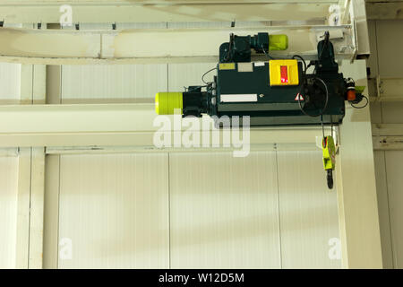 crane in factory - Stock Photo