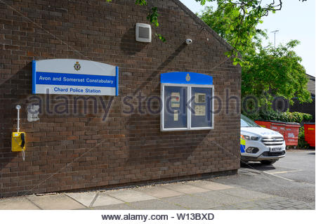 Chard Police Station, Avon and Somerset Police, Chard, Somerset, England, UK. - Stock Photo