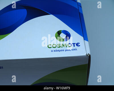 New Cosmote broadband router arrives - Stock Photo