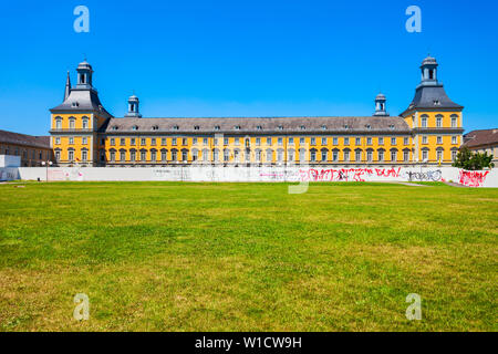 Electoral Palace or Kurfurstliches Schloss is former residential palace, now is University of Bonn in Germany - Stock Photo