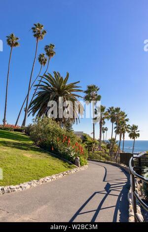 Heisler Park in Laguna Beach, California - Stock Photo