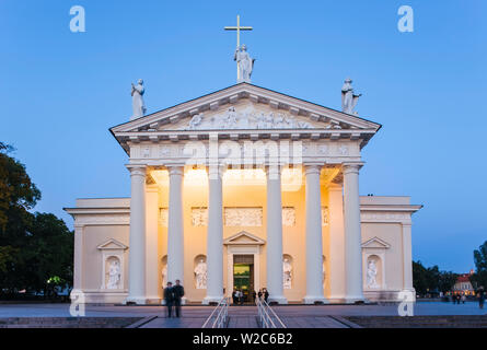 Baltic States, Lithuania, Vilnius, Cathedral - Stock Photo
