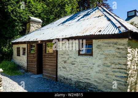 The Historic Chinese Settlement, Arrowtown, Otago Region, South Island, New Zealand - Stock Photo