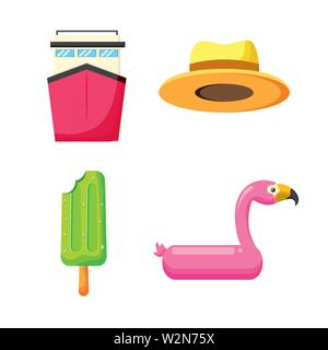 summer time holiday - Stock Photo