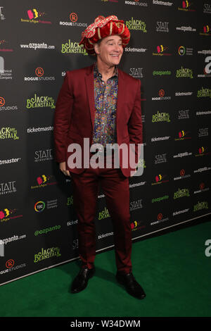Sydney, Australia. 12th July 2019. Jack and the Beanstalk Giant 3D musical spectacular red carpet at the State Theatre. Pictured: Richard Reid. Credit: Richard Milnes/Alamy Live News - Stock Photo