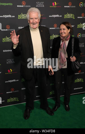 Sydney, Australia. 12th July 2019. Jack and the Beanstalk Giant 3D musical spectacular red carpet at the State Theatre. Credit: Richard Milnes/Alamy Live News - Stock Photo