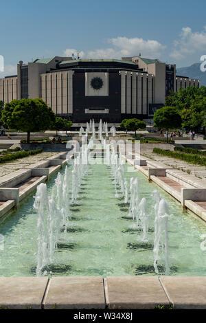 National Palace of Culture,, Sofia, Bulgaria - Stock Photo