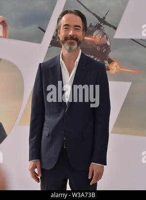 Los Angeles, USA. 13th July, 2019. Chris Morgan arrives at the Premiere Of Universal Pictures' 'Fast & Furious Presents Hobbs & Shaw' at Dolby Theatre on July 13, 2019 in Hollywood, California Credit: Tsuni/USA/Alamy Live News - Stock Photo
