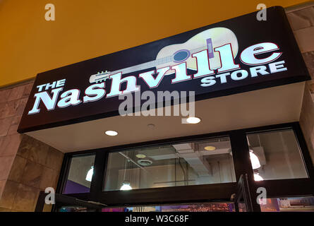 The Nashville store - NASHVILLE, USA - JUNE 16, 2019 - Stock Photo