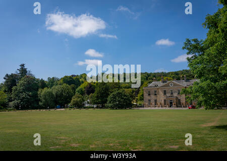 Stanmer House in Stanmer Park near Brighton, East Sussex, UK - Stock Photo