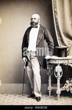 PRINCE GEORGE, Duke of Cambridge (1819-1904) and British Army officer - Stock Photo