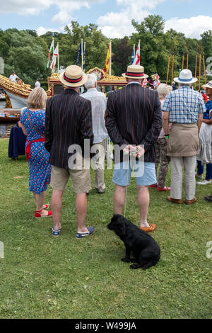 Thames Traditional Boat Festival - Stock Photo