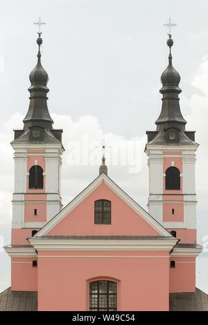 Former Baroque Camaldolese hermitage built in XVIII century in Wigry, Poland. July 5th 2008 © Wojciech Strozyk / Alamy Stock Photo - Stock Photo