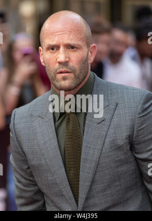 'Fast & Furious: Hobbs & Shaw' Special Screening - Red Carpet Arrivals - Stock Photo