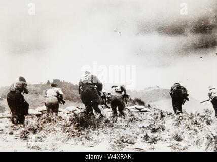 Counter-Attack before losing Irún to the Rebels, Irún - - Stock Photo