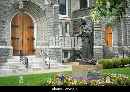 Our Lady Star of the Sea Catholic Church in Cape May, New Jersey USA - Stock Photo