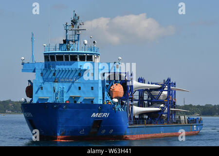 Heavy Load Carrier Meri - Stock Photo